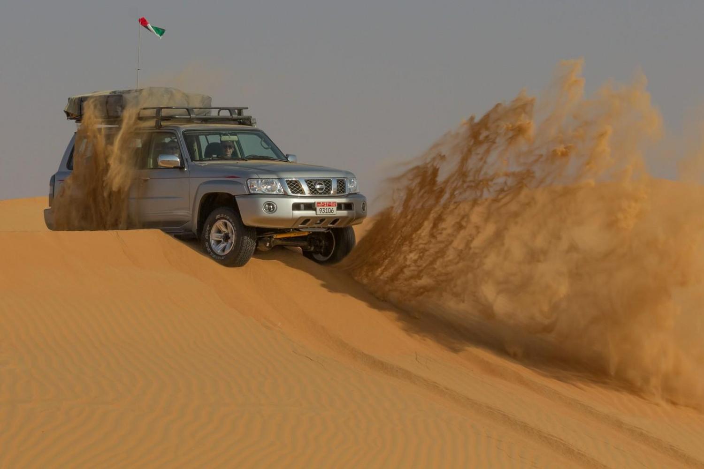 self drive desert safari